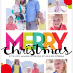 Bright Merry Bubbles 5x7 Stationery Card by Stacy Claire Boyd   Shutterfly