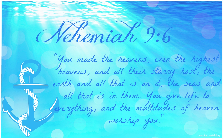 D2DL-Nehemiah9:6