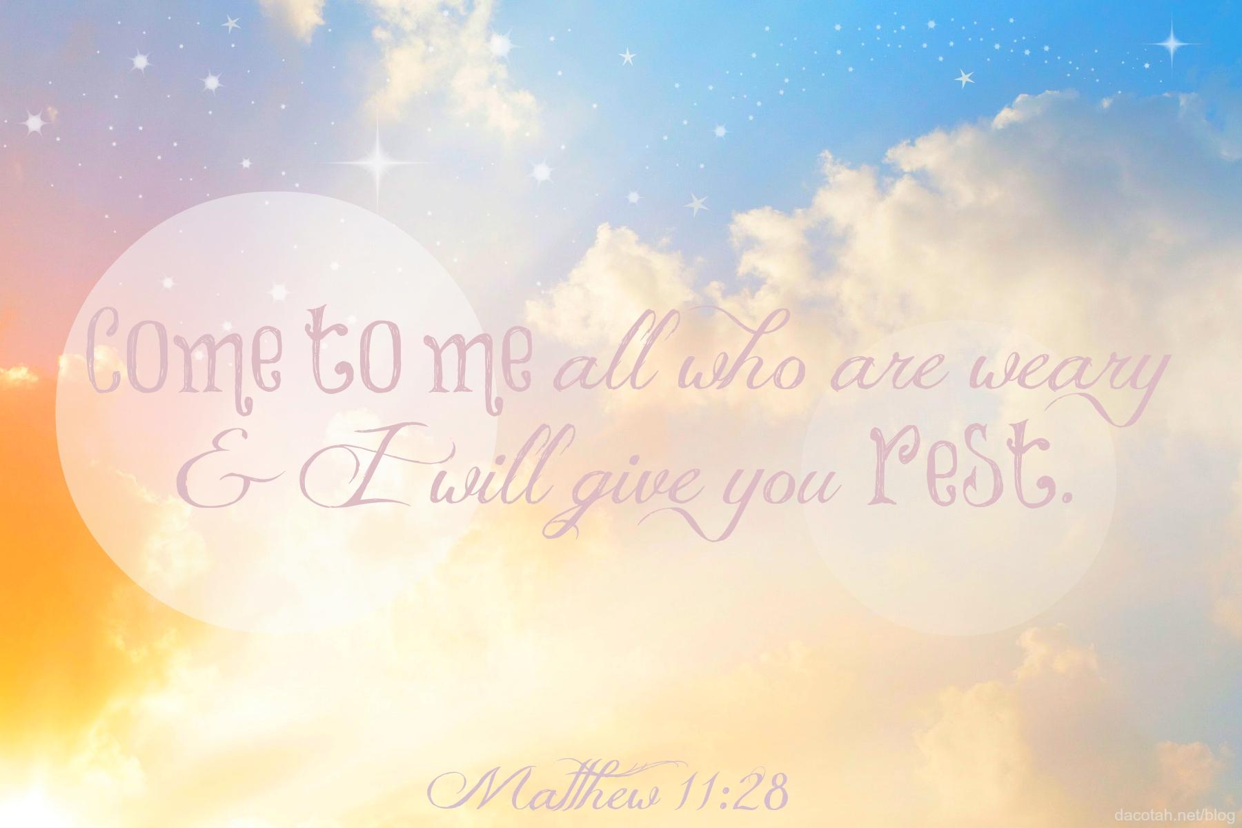 D2DL-Matthew11:28